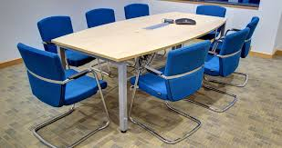 Barrel Shaped Boardroom Table with Meeting Tables Informal Ad Hoc Meeting Tables Mobile Meeting