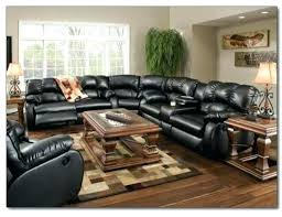 Sectional Reclining Sofas Leather Leather Sectional Sofa With Recliner Electricnest Info