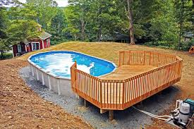 Pool Landscaping Ideas On A Budget How To Above Round Above Ground Pool Landscaping Ideas Ground Pool