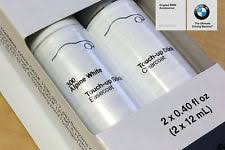alpine white bmw touch up paint bmw oem touch up paint alpine white iii color code 300 51910419747