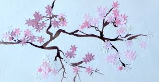 cherry blossom painting artclubblog