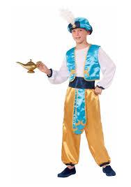 Genie Halloween Costume Child Arabian Prince Costume