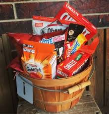 junk food gift baskets junk food basket in rogers ar a twisted bloom