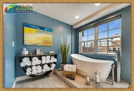 wall decorating ideas for bathrooms stunning bathroom decorating ideas aith wall color trends 2017