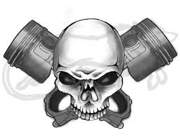 43 best skull and pistons images on