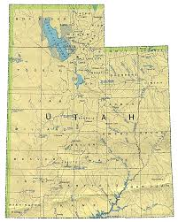 Unc Map Map Of Utah By Phonebook Of Utah Com