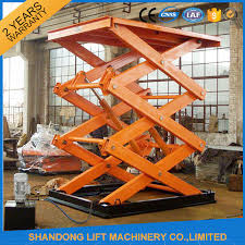 Hydraulic Scissor Lift Table by Hydraulic Scissor Lift Table With Explosion Proof Safety Device