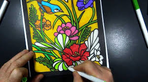stained glass coloring book 1 youtube