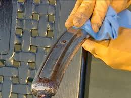 how to remove paint from metal and wicker how tos diy