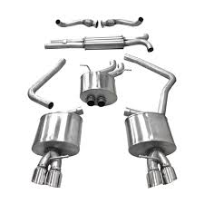 audi s4 exhaust corsa performance b8 audi s4 s5 3 0t cat back exhaust system