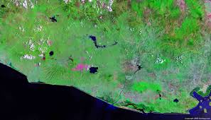 Definition Of Physical Map El Salvador Map And Satellite Image