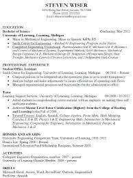 Sample Resume Recent College Graduate by Excellent Resume For Recent Grad Business Insider Recent Graduate