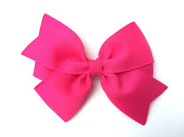 pink hair bow 4 inch hot pink hair bow hot pink bow 4 inch bows pinwheel