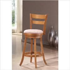 oak wood bar stools oak swivel bar stools elegant solid back stool inches high