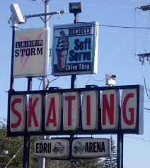 oak lawn roller rink sticker we used to skate here in 1967 this