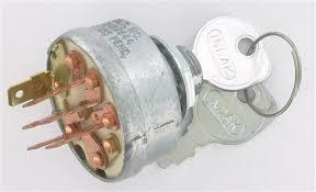 Ignition Parts Uk Kohler Uk Mower Spare Parts Ignition Switch Assembly