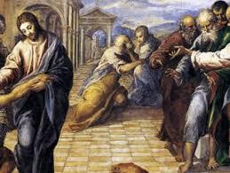 Blind Man At Bethsaida Imaginative Prayer Archives Ignatian Spirituality