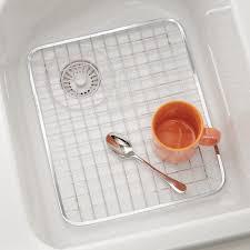 Kitchen Sink Protector Grid Interdesign Gia Kitchen Sink Protector Grid Regular Polished