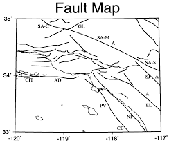 Abbreviated Map Of The United States by Model Uncertainties Of The 2002 Update Of California Seismic