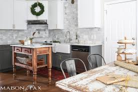 christmas kitchen maison de pax