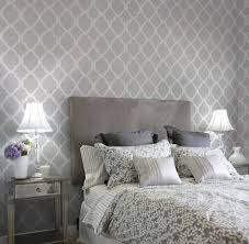 wall stencils for bedrooms home decor wall stencils contemporary bedroom new york by