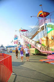 enjoy the rollercoasters and rides at wildwood boardwalk on your