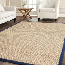 Area Rugs 6 X 10 Safavieh Natural Fiber Beige 7 Ft 6 In X 9 Ft 6 In Area Rug