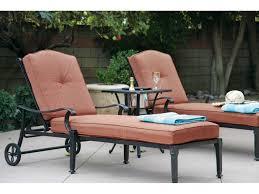 Darlee Santa Monica by Darlee Outdoor Living Standard Charleston Cast Aluminum Lounge Set