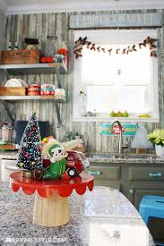 Holiday Home Decor Ideas My Eclectic U0026 Merry Holiday Home Tour Robb Restyle