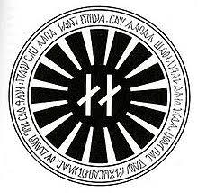 the symbol black sun occult symbol