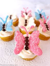 butterfly cupcakes two sisters crafting