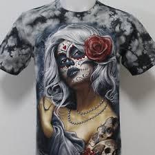 tattoo eagle girl sugar girl skull tattoo rock eagle t shirt 100 cotton g3 size m l