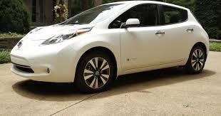 nissan leaf ads world u0027s cleanest car is a self washing nissan leaf