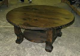 round distressed end table distressed wood coffee table distressed wood coffee table oak design
