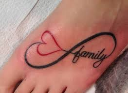 family infinity symbol on