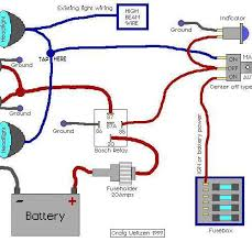 narva driving light wiring diagram with relay wiring diagram