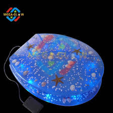 Unique Led Blue Light Toilet Seat Buy Decorative Toilet Seat