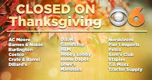 closed these shops pledged to remain closed on thanksgiving