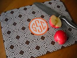 monogramed cutting boards monogram cutting board home design and decorating