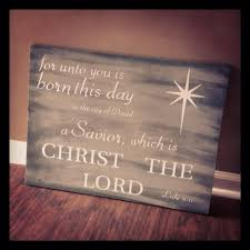 wooden luke 2 11 christian christmas sign holidays projects