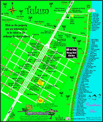 tulum map map of tulum bill in tulsa com