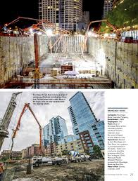 mack and volvo trucks volvo group magazine brundage bone concrete pumping
