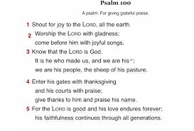 come before him with thanksgiving gcu prayer ubcgcu