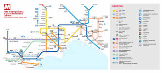 Napoli Map by Info Dobedoo