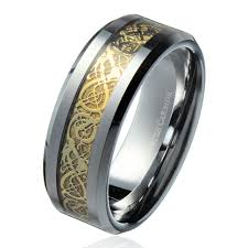 dragon wedding rings images 8mm gold celtic dragon ring men 39 s tungsten carbide wedding band jpg