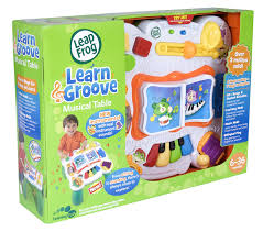 learn and groove table amazon com leapfrog learn groove musical table toys games