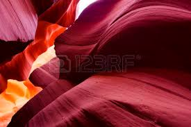 sand painting of nature lower antelope canyon page arizona