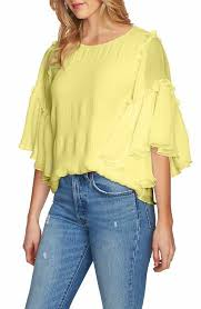 yellow blouse s yellow tops tees nordstrom