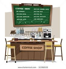 Coffee Bar Table Coffee Bar Stock Images Royalty Free Images U0026 Vectors Shutterstock