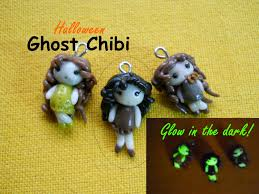 halloween diy cute ghost chibi chibi fantasma glow in the